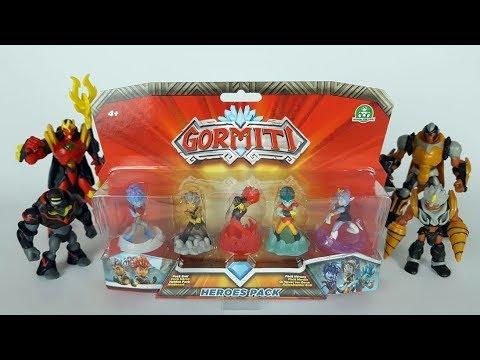 heroes pack gormiti