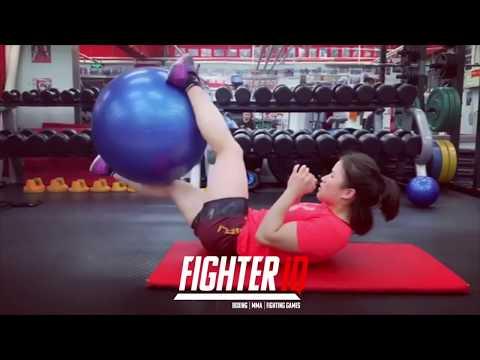 ZHANG WEILI UFC CHAMPION INSANE STRENGTH & CONDITIONING, SPARRING & INTENSE WORKOUTS!