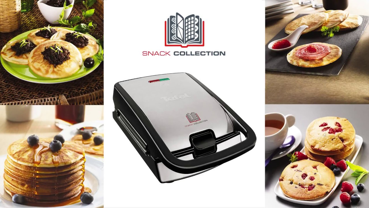 Tefal p yty do opiekacza snack collection pancakes xa801012 youtube - Gaufrier tefal snack collection ...