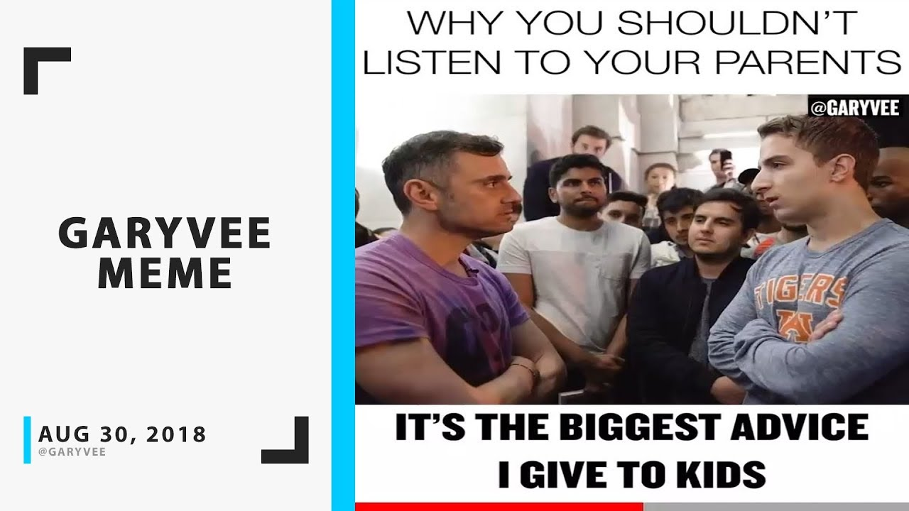 Why You Shouldn't Listen to Your Parents – GaryVee Instagram Video