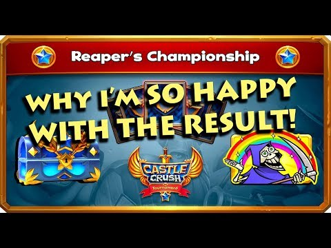 Castle Crush - REAPER TOURNAMENT Disaster or Blessing?!