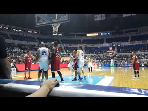 Magnolia takes advantage of Tim Cone ejection to beat Ginebra, move on verge of PBA Finals