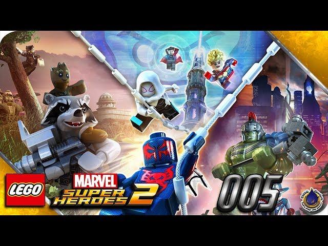 Let's Play LEGO MARVEL SUPERHEROES 2 💥 [005] Aqua Iron Man