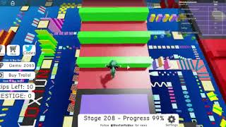 Roblox Mega Fun Obby 2 Hholykukingames Plays Stages 205 To 210