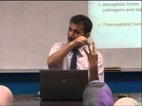 Lecture 5 : Bacterial physiology & growth -1