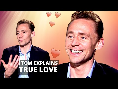 The amazing Tom Hiddleston on what real love is - and why he wants to believe in ghosts.