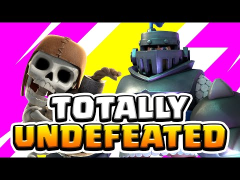 [UNDEFEATED] Ultimate Mega Knight Cycle Deck!