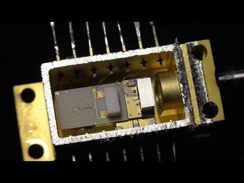 Alcatel/Lucent Fiberoptic Laser And Receiver - (PWJ95)
