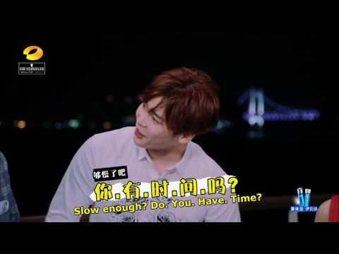 【Baidu Lee JongSuk Bar】160123 Happy Camp LeeJongSuk [English Caption]