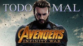 Todo MAL: Avengers: Infinity War