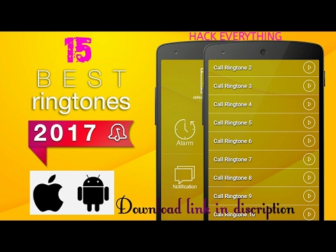 15 Best Ringtones 2017/ Top Remix Ringtones /for Android And Ios By Hack Everything