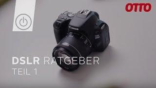 Welche Spiegelreflexkamera kaufen? Der große DSLR Ratgeber - Teil 1