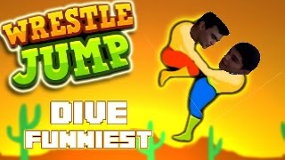 wrestle jump un juego algo peculiar ¡¡¡ con tontony