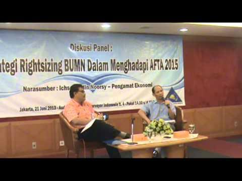Diskusi Panel (ichsanuddin noorsy) Serikat Pegawai Surveyor Indonesia (SPASI) 21 Juni 2013 Part 1