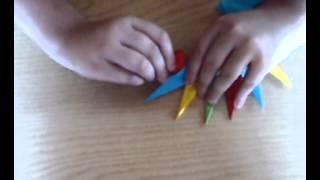 origami stella ninja a 16 punte!!!!!