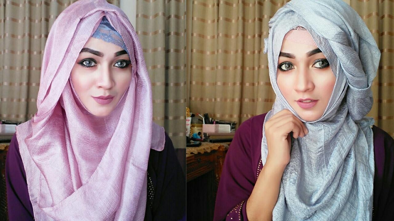 Tutorial Hijab Onm In 2019 Hijab Tutorial Hijab Style Tutorial Hijab Fashion
