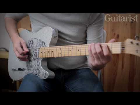 Fender Brad Paisley Road Worn Telecaster Demo