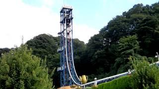 2012/9/16 東京サマーランドに行ってきました! 無重力を体験できる乗り...