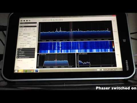 QRM mitigation with antenna phasing