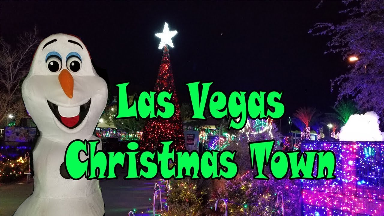 Best Christmas Toys 2017 >> Christmas Town Las Vegas Wet n Wild | Best Christmas Holiday event near me - YouTube