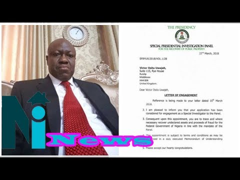 Looted funds: Presidency appoints Uwajeh to recover undeclared assets, stolen money