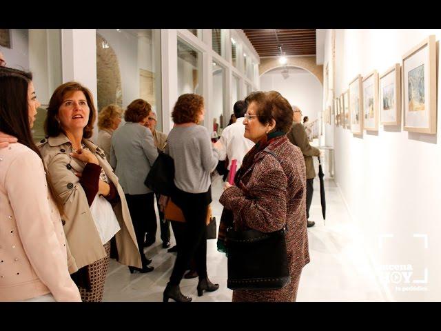 Vídeo: Las imágenes de la inauguración de la exposición de Antonio Molina Contreras en la Casa de los Mora