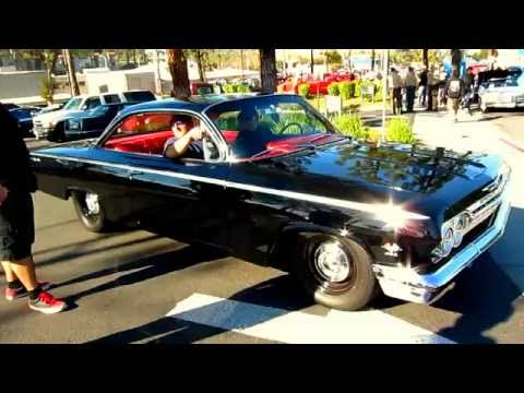 """The sweet sound of a '62 Chevy Bel Air 409 """"Bubble Top"""""""