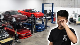 WE SURPRISED HIM WITH HIS DREAM GARAGE!!