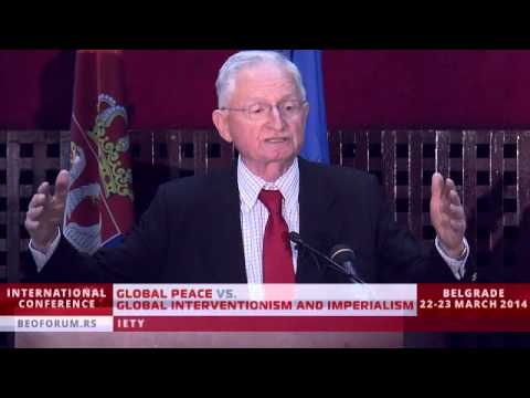ŽIVADIN JOVANOVIC - part3 - (Global Peace vs. Global Interventionism and Imperialism)