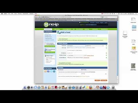 How to Setup Wireless IP Camera to Static IP or Dynamic IP To DNYDNS Service