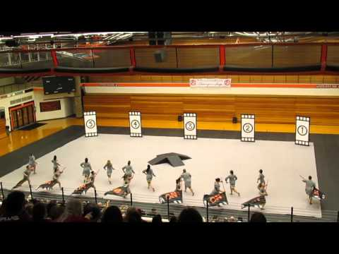 "2016 Morris Community High School Winterguard - ""Hitch"""