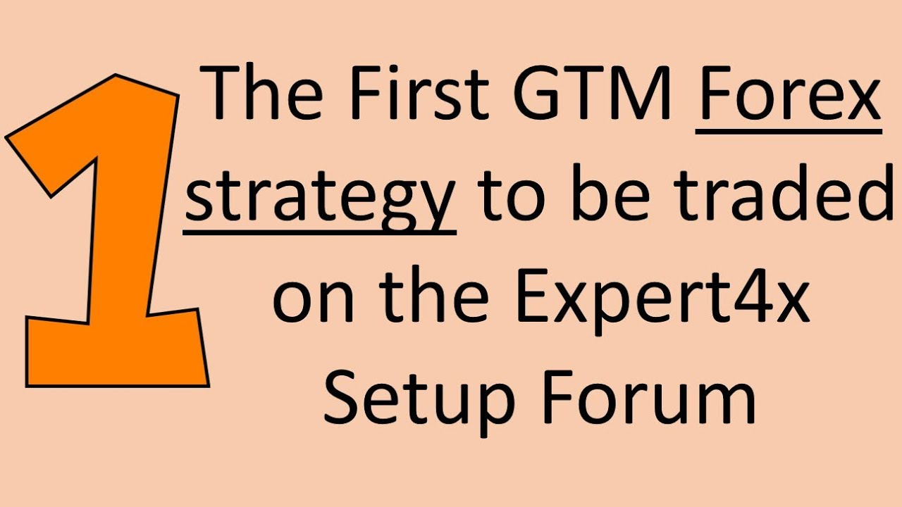 A live Forex Grid Trend Multiplier EA trade placed on the Expert4x Forex trade setup Forum