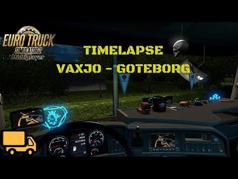 ETS 2 MP TimeLapse #76 - Vaxjo - Goteborg - (Scandinavia) |