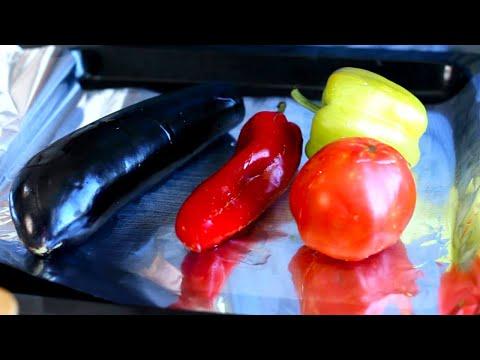 Аджапсандал (აჯაფსანდალი) - великолепное овощное блюдо! запечённые овощи