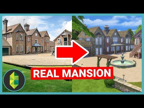 Building a REAL MANSION in The Sims Sims 4 House Build