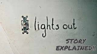 Lights Out Movie Story Explained | Lights Out Movie Review