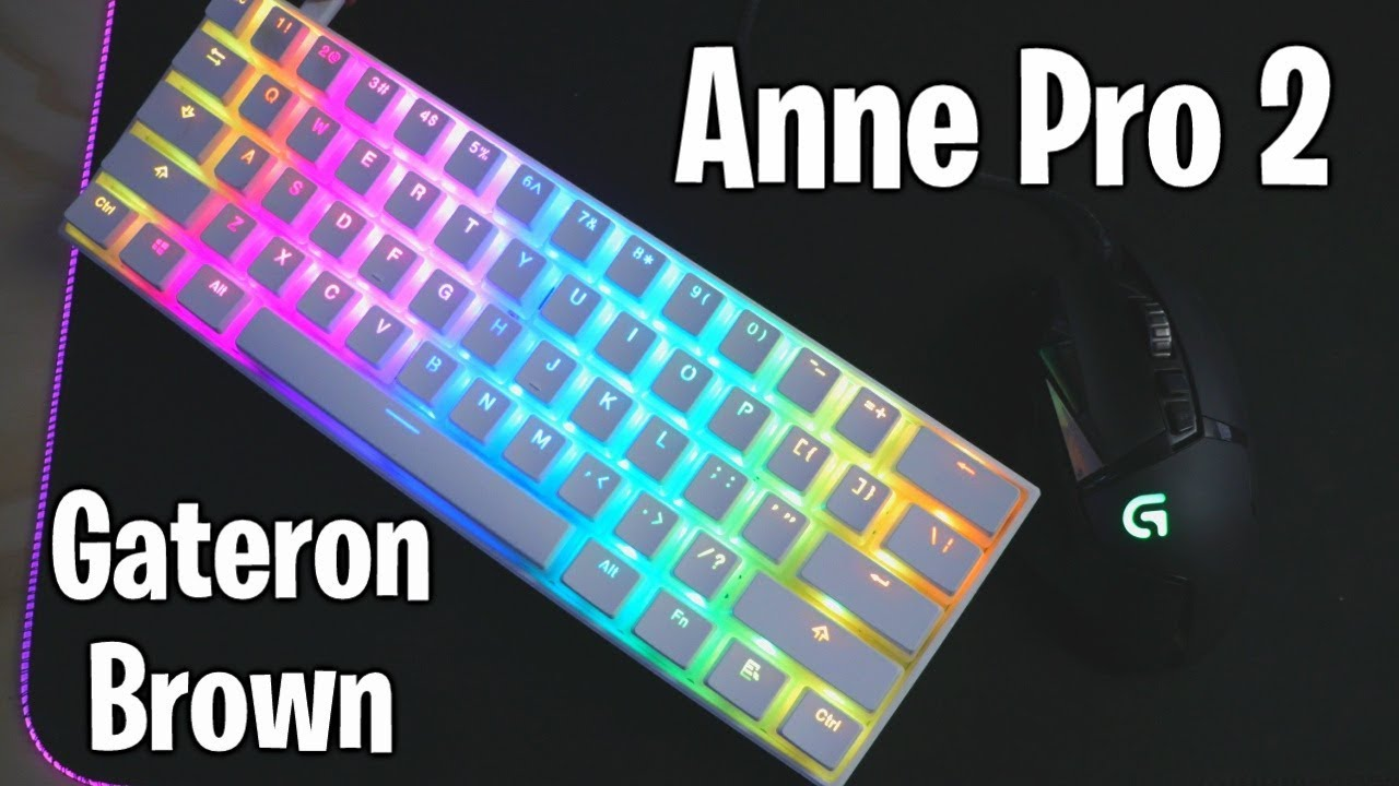 Anne Pro 2 (Gateron Brown) LoFi Keyboard & Mouse Sounds Fortnite Competitive Gameplay