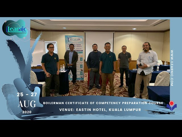 20, Aug 25 | Boilerman Certificate of Competency Preparation Course
