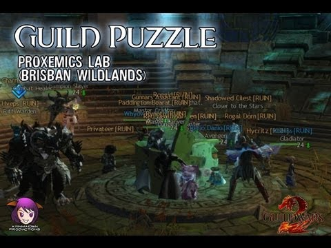 ★ Guild Wars 2 ★ - Guild Puzzle (Proxemics Lab - Brisban Wildlands)