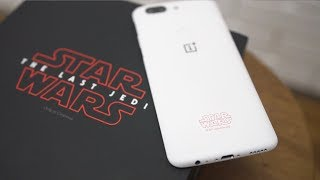 OnePlus 5T Star Wars Limited Edition Unboxing & Overview