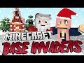 Christmas Secrets! | Minecraft Base Invaders Challenge