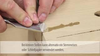 Tmel na dřevo IF 139 pro opravu suků a prasklin ve dřevě