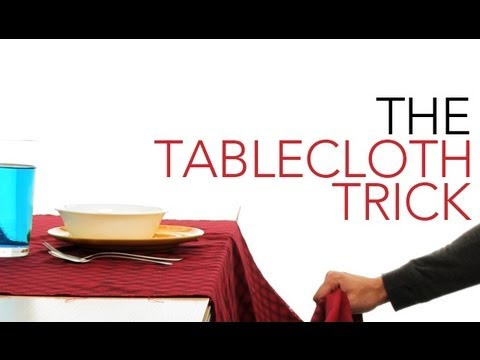 The Tablecloth Trick - Sick Science! #010