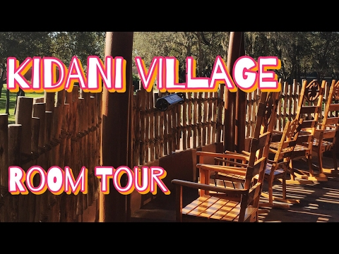 Disney's Animal Kingdom Villas - Kidani Village 1 Bed Room Tour (DVC)