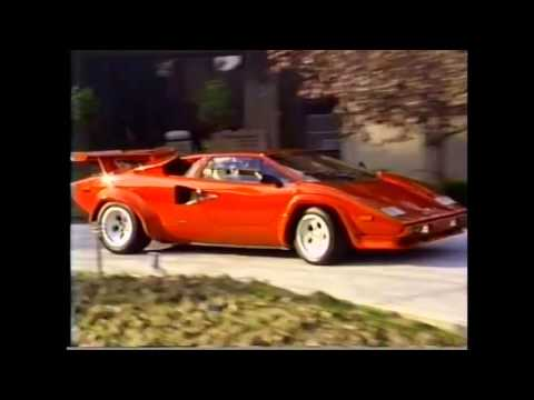 Coolest kid in school. Home video of their Countach back in 1987