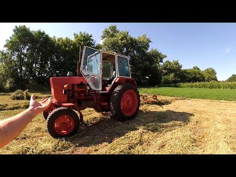 Огляд трактора ЮМЗ (відповіді на питання)