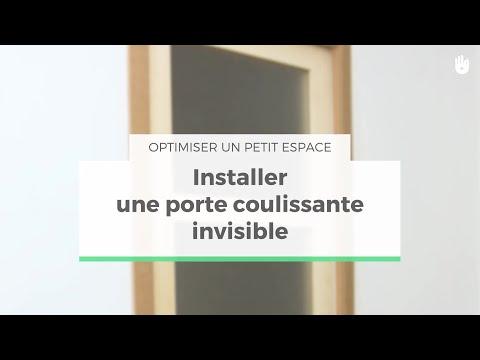 Poser Une Porte Coulissante Invisible Optimiser Un Petit