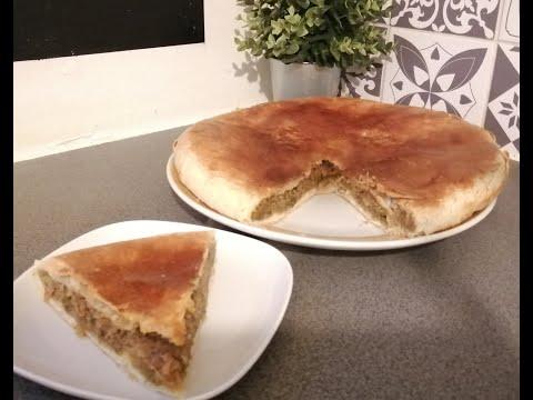 pastilla-salée-avec-pâte-de-msaman-(crêpe-feuilleté-marocaine)-croustillante-et-delicieuse😋