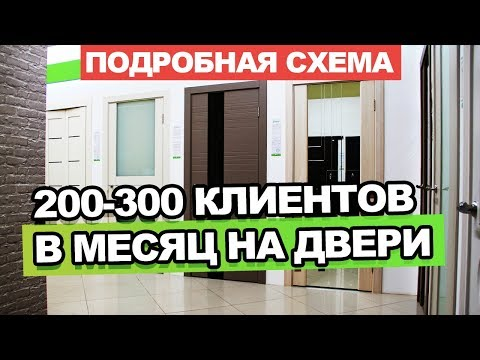 Кейс 200 300 клиентов в месяц на продажу дверей! Как продавать двери?