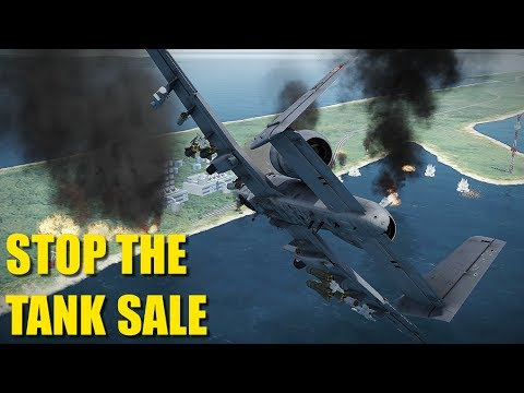 Reapers Help SAS Stop Major Arms Sale In Indonesia | A-10 Su-25 P-51 Fw-190 | DCS